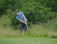 23.06.2014.  Ash, Kent, England. The Open Golf Regional Qualifier played on the International Course at The London Golf Course. Group 26 Alvaro Venegas Gil [Spain], Monday Eze (A) [Nigeria], Daniel Byrne (A) [Dartford]
