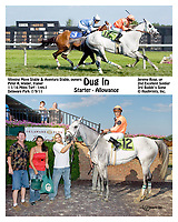Dug In winning at Delaware Park on 7/9/11