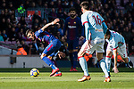 Paulinho Maciel of FC Barcelona (L) in action during the La Liga 2017-18 match between FC Barcelona and RC Celta de Vigo at Camp Nou Stadium on 02 December 2017 in Barcelona, Spain. Photo by Vicens Gimenez / Power Sport Images