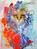 Marie, REALISTIC ANIMALS, REALISTISCHE TIERE, ANIMALES REALISTICOS, paintings+++++,USJO172,#A# ,Joan Marie cat