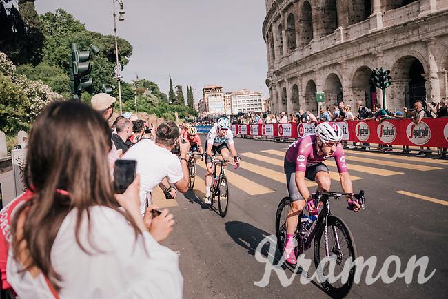 Maglia Ciclamino / points leader Elia Viviani (ITA/Quick Step Floors)<br /> <br /> stage 21: Roma - Roma (115km)<br /> 101th Giro d'Italia 2018