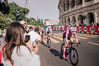 Maglia Ciclamino / points leader Elia Viviani (ITA/Quick Step Floors)<br /> <br /> stage 21: Roma - Roma (115km)<br /> 101th Giro d'Italia 2018