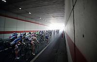 2013 Giro d'Italia.stage 10..peloton out of the dark