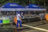 Rio de Janeiro (RJ), 21/02/2020 - Carnaval-Rio- CEDAE abastece os folioes com um posto de abastecimento de agua  no sambodromo, no centro do Rio de Janeiro (RJ), nesta sexta-feira (21). (Foto: Ellan Lustosa/Codigo 19/Codigo 19)