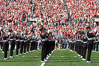 13 October 2007: Ohio State marching band..The Ohio State Buckeyes defeated the Kent State Golden Flashes 48-3 on  October 13, 2007 at Ohio Stadium, Columbus, Ohio.