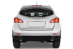 Straight rear view of a 2009 Nissan Murano