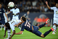 Zlatan IBRAHIMOVIC (psg) - Steeve YAGO (tou) .Parigi 17/9/2012.Football Calcio 2012/2013 Ligue 1.Psg Vs Tolosa.Foto Anthony Bibard / Panoramic / Insidefoto.ITALY ONLY