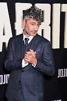 "LOS ANGELES, USA. October 15, 2019: Taika Waititi at the premiere of ""JoJo Rabbit"" at the Hollywood American Legion.<br /> Picture: Paul Smith/Featureflash"