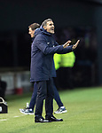 Kilmarnock v St Johnstone…..04.12.19   Rugby Park   SPFL<br />Killie boss Angelo Alessio tries to calm his players<br />Picture by Graeme Hart.<br />Copyright Perthshire Picture Agency<br />Tel: 01738 623350  Mobile: 07990 594431