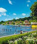 Deutschland, Bayern, Starnberger See, Starnberg: Seepromenade | Germany, Bavaria, Lake Starnberg, Starnberg: seaside promenade
