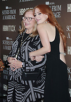 NEW YORK, NY- October 10: Jessica Chastain and her grandmother Marilyn at the HBOMAX premiere of Scenes From A Marriage at the Museum of Modern Art Titus Theatre in New York City on October 10, 2021 <br /> CAP/MPI/RW<br /> ©RW/MPI/Capital Pictures