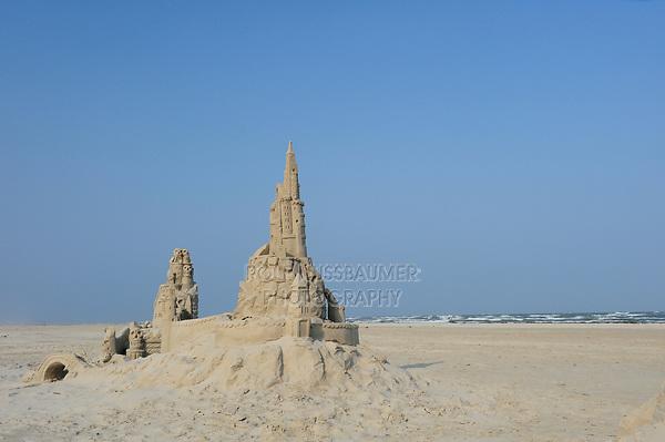 Sandfest, Sand Sculpture Festival, Port Aransas, Texas, USA