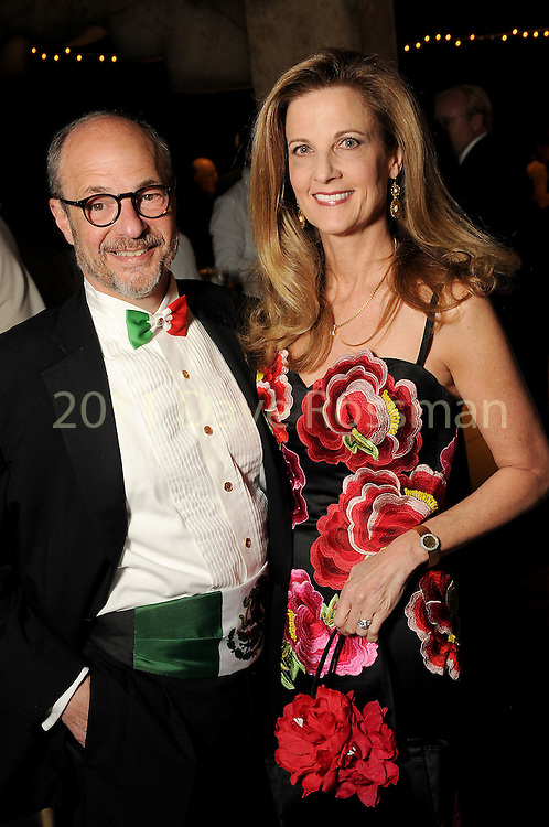 Melinda and Sam Stubbs at the Ole! A Night in Old Mexico Gala at the Museum of Natural Science Saturday March 05,2016.(Dave Rossman Photo)
