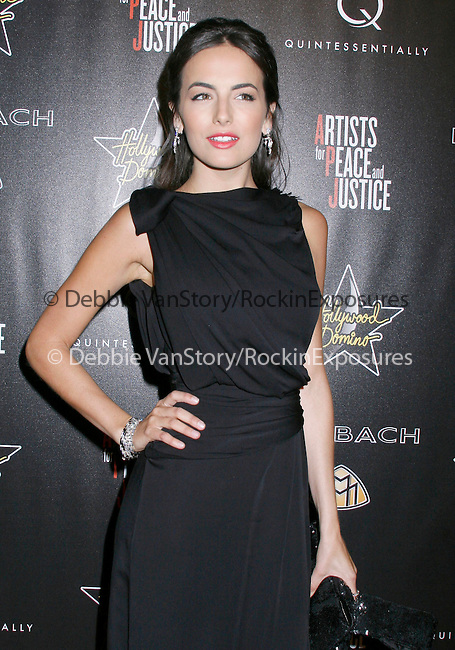 Camilla Belle  at the 3rd Annual Pre-Oscar Hollywood Domino Gala Benefitting Artists for Peace and Justice at Bar 210 at The Beverly Hills Hotel in Beverly Hills, California on March 04,2010                                                                   Copyright 2010 DVS / RockinExposures