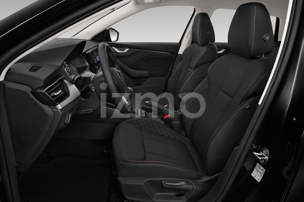 Front seat view of a 2019 Skoda Scala  Ambition 5 Door Hatchback front seat car photos