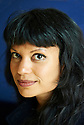 Anjali Joseph, novelist and writer at Oxford Literary Festival  at Christchurch College, Oxford  2014 CREDIT Geraint Lewis