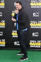 SANTA MONICA, CA, USA - FEBRUARY 15: Joseph Fauria at the 4th Annual Cartoon Network Hall Of Game Awards held at Barker Hangar on February 15, 2014 in Santa Monica, California, United States. (Photo by David Acosta/Celebrity Monitor)