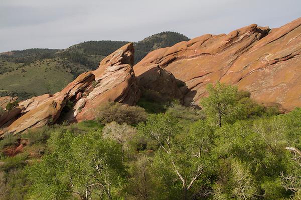 Red Rocks State Park landscape, Colorado