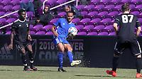 Orlando, Florida - Wednesday January 17, 2018: AJ Paterson. Match Day 3 of the 2018 adidas MLS Player Combine was held Orlando City Stadium.