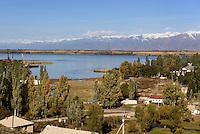 Ostuferdes Issyk Kul See, Kirgistan, Asien<br /> east bank of Issyk Kul Lake near Karakol, Kirgistan, Asia