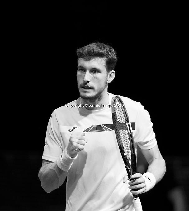 Rotterdam, The Netherlands, 12 Februari 2020, ABNAMRO World Tennis Tournament, Ahoy, Pablo Carreno Busta (ESP).<br /> Photo: www.tennisimages.com