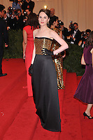 Melanie Lynskey at the 'Schiaparelli And Prada: Impossible Conversations' Costume Institute Gala at the Metropolitan Museum of Art on May 7, 2012 in New York City. ©mpi03/MediaPunch Inc.