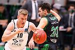 TDAYS EuroCup 2020-2021.Round 1.<br /> Joventut Badalona vs Partizan NIS Belgrado: 85-82.<br /> Ognjen Jaramaz vs Ferran Bassas.