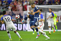Houston, TX - Tuesday June 21, 2016: Gabriel Mercado during a Copa America Centenario semifinal match between United States (USA) and Argentina (ARG) at NRG Stadium.