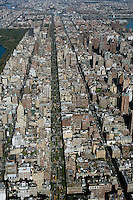 aerial photograph Park Avenue, Upper East Side, Manhattan, New York City