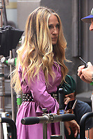 NEW YORK, NY - July 20: Sarah Jessica Parker on the set of the HBOMax Sex and the City reboot series And Just Like That on July 20, 2021 in New York City. <br /> CAP/MPI/RW<br /> ©RW/MPI/Capital Pictures