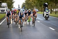 Elisa Longo Borghini (ITA/Trek-Segafredo) in front <br /> <br /> 9th Gent-Wevelgem in Flanders Fields 2020<br /> Elite Womens Race (1.WWT)<br /> <br /> One Day Race from Ypres (Ieper) to Wevelgem 141km<br /> <br /> ©kramon