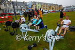 The Frozen Achievers from Tralee taking part in the Beach Fit Games in Waterville on Saturday pictured l-r; Danny O'Shea, Mazza O'Shea, Lynda Hayes &  Ger Grady.