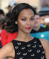 May 2nd, 2013 - London..Zoe Saldana arriving at the premiere of Star Trek Into Darkness at the Empire in London, UK on May 2, 2013..****** BYLINE MUST READ : © Spread Pictures ******..****** No Web Usage before agreement ******..****** Strictly No Mobile Phone Application or Apps use without our Prior Agreement ******..Enquiries at photo@spreadpictures.com