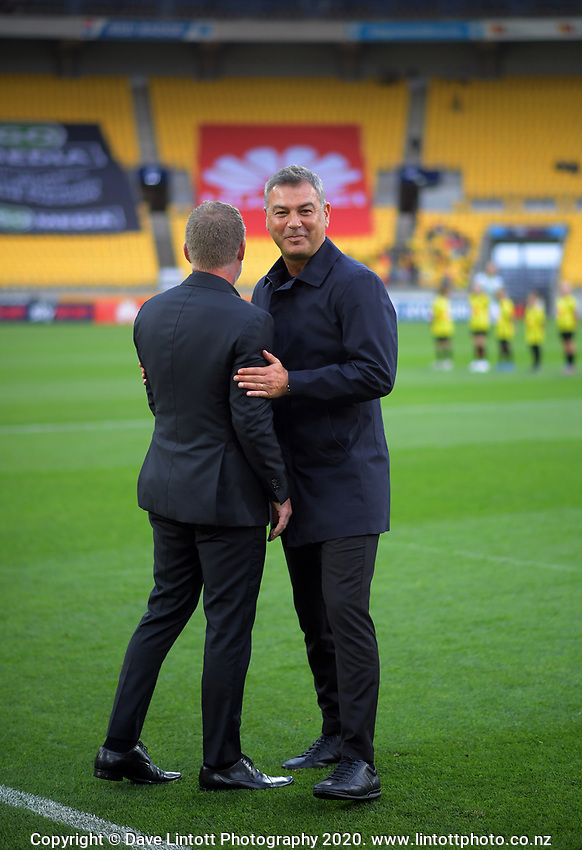 during the A-League football match between Wellington Phoenix and Western United FC at Sky Stadium in Wellington, New Zealand on Friday, 21 February 2020. Photo: Dave Lintott / lintottphoto.co.nz