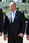 President of Costa Rica Republic, Luis Guillermo Solis Rivera at Zarzuela Palace in Madrid, May 08, 2017. Spain.<br /> (ALTERPHOTOS/BorjaB.Hojas)