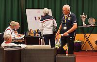 August 22, 2014, Netherlands, Amstelveen, De Kegel, National Veterans Championships, Match control<br /> Photo: Tennisimages/Henk Koster