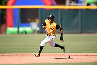***Temporary Unedited Reference File***Jacksonville Suns center fielder Yefri Perez (12) during a game against the Mississippi Braves on May 1, 2016 at The Baseball Grounds in Jacksonville, Florida.  Jacksonville defeated Mississippi 3-1.  (Mike Janes/Four Seam Images)