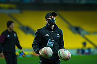 Match manager Johnny Schmitt during the rugby match between North and South at Sky Stadium in Wellington, New Zealand on Saturday, 5 September 2020. Photo: Dave Lintott / lintottphoto.co.nz