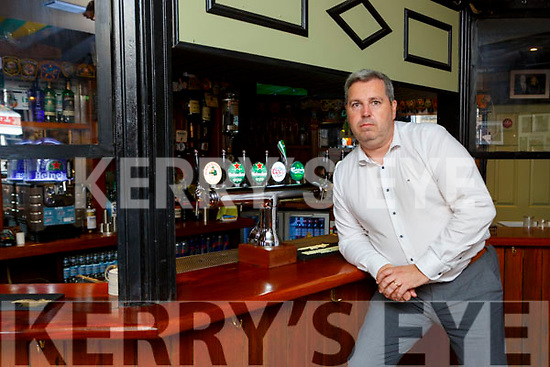 Cllr Niall O'Callaghan in the Failte Hotel bar on Wednesday