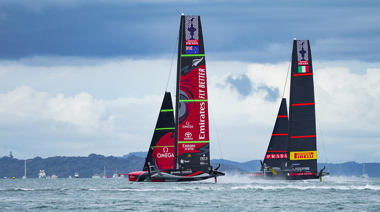 North Sails were used in the recent America's Cup finals and Prada Cup Challenger series finals