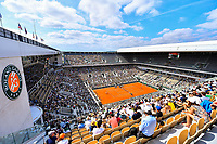 General view during the tenth round of Roland Garros tennis open at Roland Garros in Paris, France on Saturday, 12 June, 2021. Photo by Baptiste Fernandez / Icon Sport