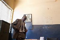Corpal Patrick Simiyu, a detective  in Nairobi's anti-fraud and forensics investistigation unit. Simiyu investigates cases of fraud and electronic fraud.