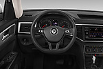 Car pictures of steering wheel view of a 2019 Volkswagen Atlas S 5 Door SUV