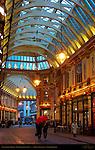 Leadenhall Market, Gracechurch Street, London, England, UK