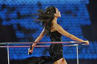 Spice Girls.Victoria Beckham alias Posh Spike.Londra 12/08/2012 Olympic Stadium.London 2012 Olympic Games Closing Ceremony.Olimpiadi Londra 2012 Cerimonia d chiusura.Foto Insidefoto Giovanni Minozzi.