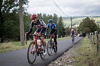 Kobe Goossens (BEL/Lotto-Soudal) up the Côte de Stockeu<br /> <br /> 106th Liège-Bastogne-Liège 2020 (1.UWT)<br /> 1 day race from Liège to Liège (257km)<br /> <br /> ©kramon