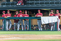 STANFORD, CA - JUNE 6: Team during a game between UC Irvine and Stanford Baseball at Sunken Diamond on June 6, 2021 in Stanford, California.