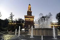 - Milano, Castello Sforzesco<br /> <br /> - Milan, Sforzesco Castle