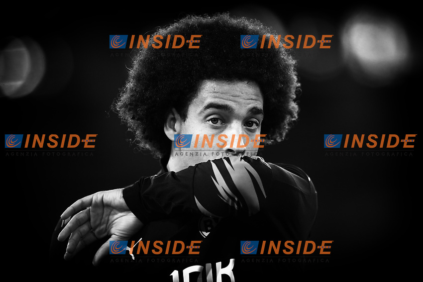 Axel Witsel of Dortmund during the Champions League Group Stage F day 1 football match between SS Lazio and Borussia Dortmund at Olimpic stadium in Rome (Italy), October, 200 Individual Medley men, 2020. Photo Andrea Staccioli / Insidefoto