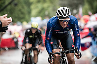 Gianni Moscon (ITA/Ineos)<br /> <br /> Elite Men Road Race from Leeds to Harrogate (shortened to 262km)<br /> 2019 UCI Road World Championships Yorkshire (GBR)<br /> <br /> ©kramon